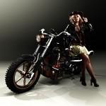 Мотоцикл М52.